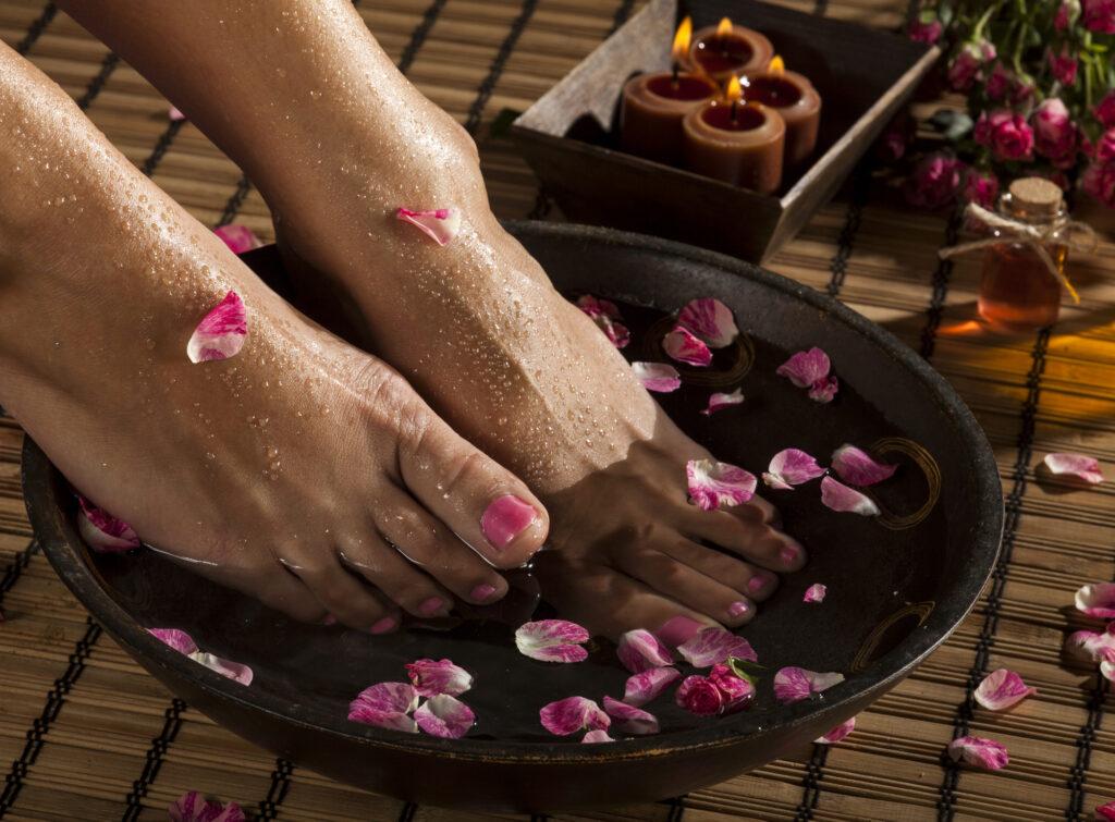 foot soak treatment
